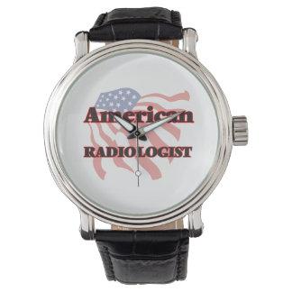 Radiólogo americano reloj de mano
