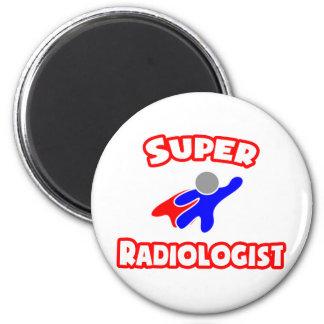 Radiólogo estupendo imán redondo 5 cm