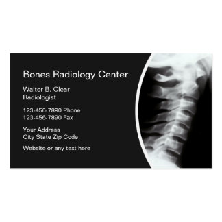 Radiology Business Cards