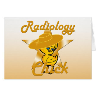 Radiology Chick #10 Card