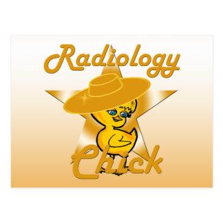 Radiology Chick #10 Postcard