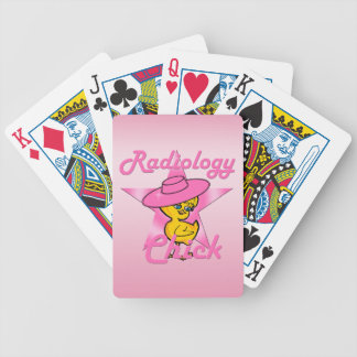 Radiology Chick #8 Bicycle Playing Cards