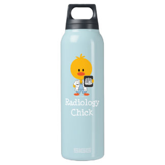 Radiology Chick Insulated Water Bottle