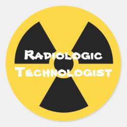 Radiology Classic Round Sticker