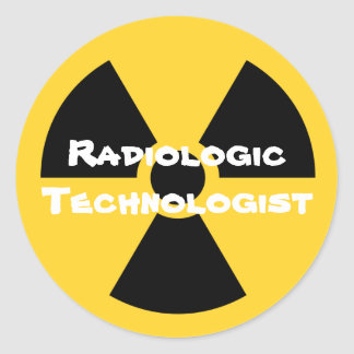Radiology Classic Round Sticker