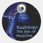 """Radiology: Eye of Medicine"" sticker"