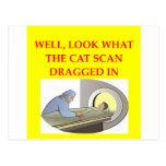 radiology joke post card