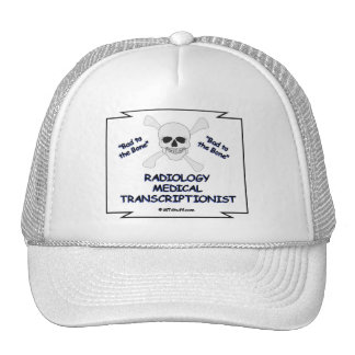 RADIOLOGY MT Bad to Bone Trucker Hat