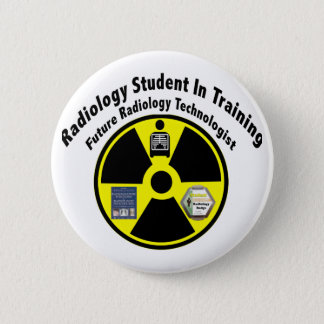 Radiology Student In Training Pinback Button