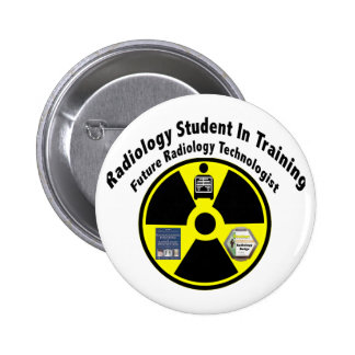 Radiology Student In Training Pinback Buttons