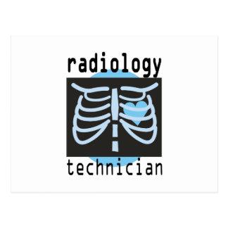 Radiology Technician Postcard
