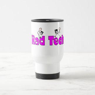 "Radiology Technician ""Rad Tech"" Gifts 15 Oz Stainless Steel Travel Mug"
