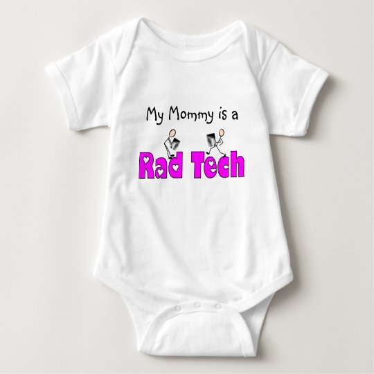 "Radiology Technician ""Rad Tech"" Gifts Baby Bodysuit"