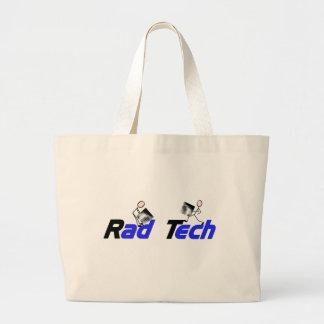 "Radiology Technician ""Rad Tech"" Gifts Jumbo Tote Bag"