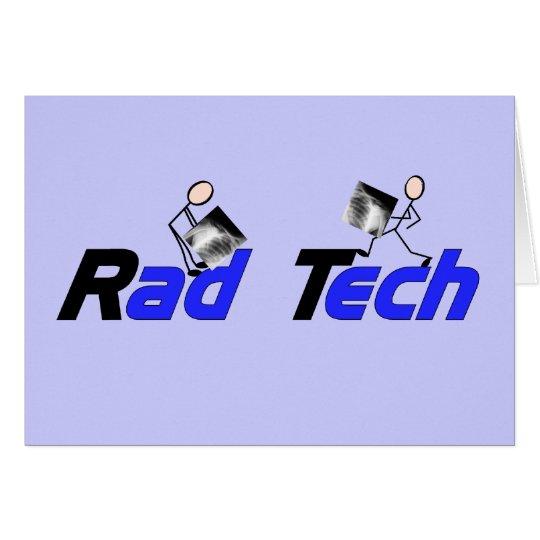 "Radiology Technician ""Rad Tech"" Gifts Card"