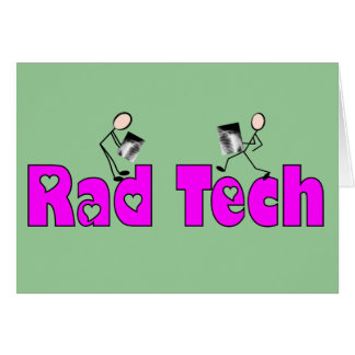 "Radiology Technician ""Rad Tech"" Gifts Card"