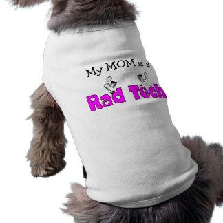 Radiology Technician Rad Tech Gifts Dog Tshirt