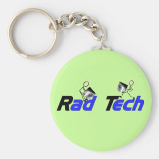 "Radiology Technician ""Rad Tech"" Gifts Keychain"