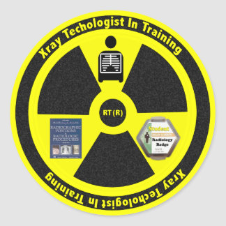 Radiology Technologist In Training Gifts Classic Round Sticker
