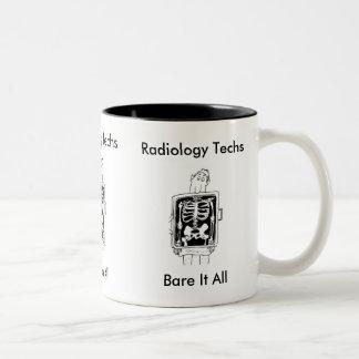 Radiology Techs Bare It All Mug
