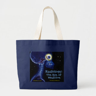 """Radiology: The Eye of Medicine"" tote bag"