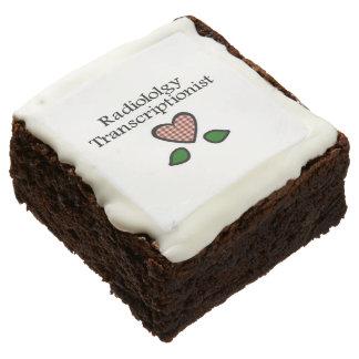 Radiology Transcription Cookies Brownie