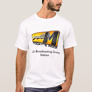radioM-2008logo-FINAL, Zeus Broadc... - Customized T-Shirt