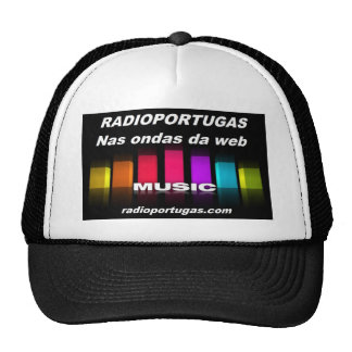Radioportugas, in the waves of the web, cap trucker hat
