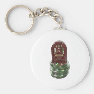 RadioShowsOnDisk010212 Basic Round Button Keychain
