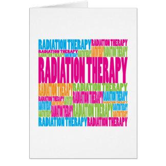 Radioterapia colorida tarjeton
