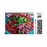 Radish basket stamps