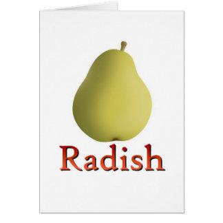 Radish Greeting Cards