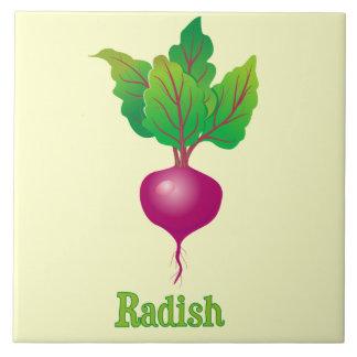 Radish Decorative Kitchen Accent Tile