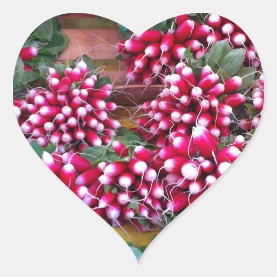 radish.jpg heart sticker