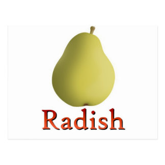 Radish Post Card