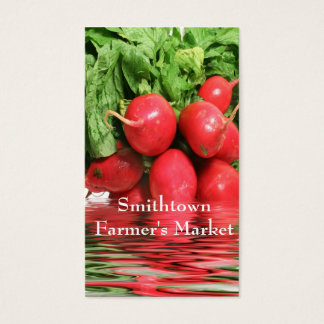 Radishes Business Card