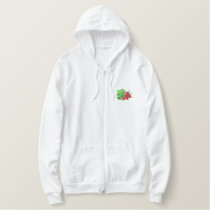 Radishes Embroidered Hoodie