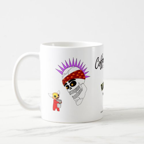 Radiskull  Devil Doll Coffee with Friends mug