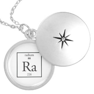 Radium Silver Plated Necklace