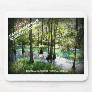 RADIUM SPRINGS - Albany, Georgia Mouse Pad