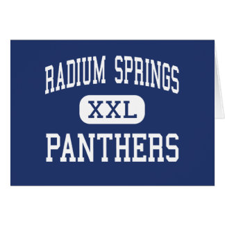 Radium Springs Panthers Middle Albany Card