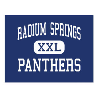 Radium Springs Panthers Middle Albany Postcard