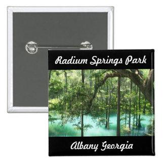 Radium Springs Park Albany GA. The Good Life City Button