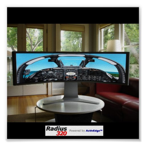 Radius320 Flight Simulation Poster