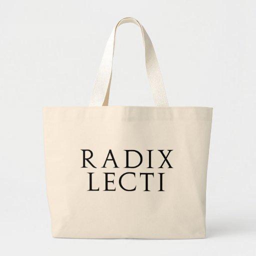 Radix Lecti Jumbo Tote Bag