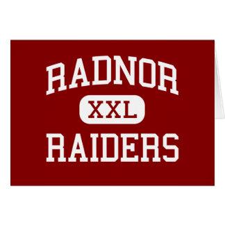 Radnor - Raiders - High - Radnor Pennsylvania Cards