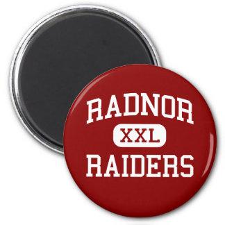 Radnor - Raiders - High - Radnor Pennsylvania Refrigerator Magnet