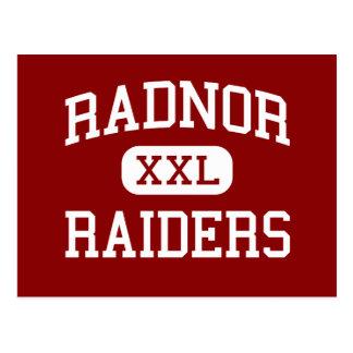 Radnor - Raiders - High - Radnor Pennsylvania Postcard