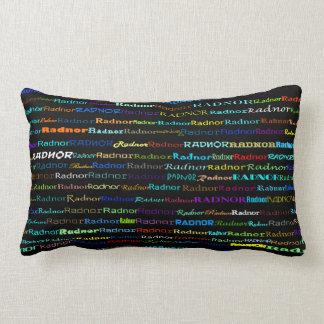 Radnor Text Design I Lumbar Pillow