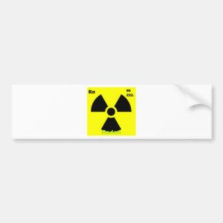 radon bumper sticker